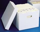Scatole per l'archiviazione in sospensione